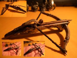 Working Mini Crossbow by SimonSaysBaka