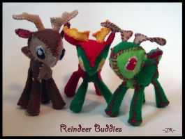 Reindeer Buddies by VampirateMace