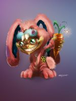 Ziggs-bunny-colored by Siranis