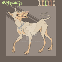 Marcus canine ref by boarbarian
