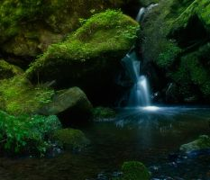 Little Waterfall by kbayerl
