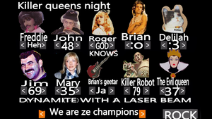 We are the killer queens by SailorAnnabel