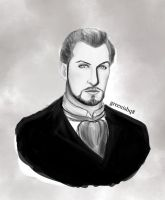 Vincent Price Baron of Arizona by GreenishQ8
