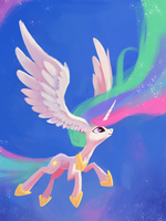 Oh Celestia, What Big Ears You Have. by aJVL