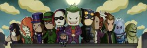 Batman Villains United by MattiasFahlberg