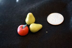 miniature apple and pears by star--crossed