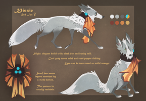 Mascot Klissie Reference -I DID NOT DRAW THIS- by Klissie