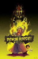 demon horse whut? by neomonki