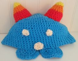 Crocheted Nepeta Hat by kendra-fairy