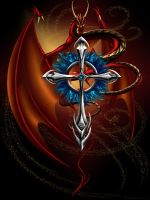 Cross of Blades by Gizmodian