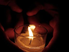 Candle and Hands 02 by eyadness