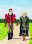 Lana and Theron by S-Anchev