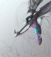 Doru B-day gift WIP by Anarchpeace
