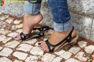 Areana's Sandals 2 by Footografo