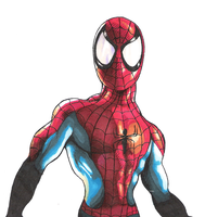 Spiderman by CameronHarperArt