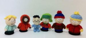 Some characters from South Park by AmiAmaLilium