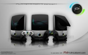 Playstation 4 concept 2 by darpan-aero