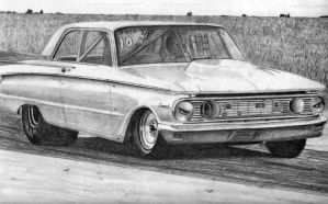 comet drag car by donwold