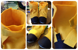 Cosplay Boots by Swamnanthas