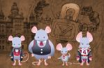 SteamPunk Mouse League by Brueh
