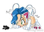 Felicia doing Kitty things fin by rongs1234