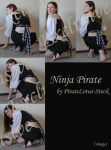 Exclusive Ninja Pirate by PirateLotus-Stock