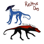 Reptus Dog Sheet by TripleThreatKennels