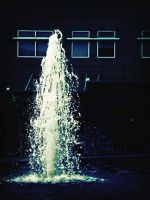 mall fountain by silverlife