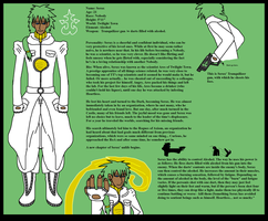 Serax - Character Sheet 2011 by Kaiju-Borru-Zetto