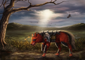 Commission: Lone survivor by Bra1nEater