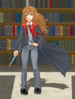In the library by duendefranco
