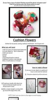 Cushion Flower Tutorial by kirilee