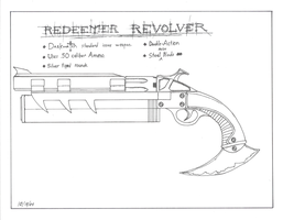 Redeemer Revolver by gunslinger87