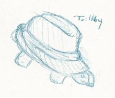 Turtle hat Triliby by SparkleFairyMangoFsh