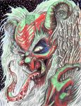 Old Man Krampus by TheDaveL