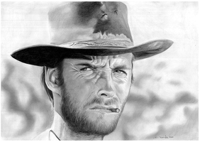 Clint Eastwood by donchild
