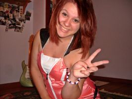 Kairi's PEACIN! by EvilNghtmare