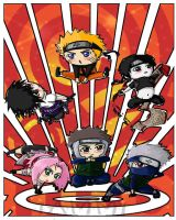 Land of the rising Chibis by 1amm1