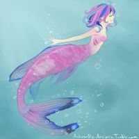 Mermaid 1 by TheGothiestFraggle