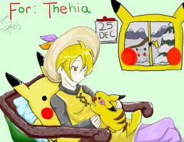 Yellow and ChuChu by SolbiiMelody
