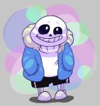 Sans the Skelebruh by Sparkgon