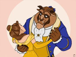 Beauty and the Beast -Love- by talisje