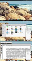 Arch Linux: Desktop Screenshot - 11/07/12 by artt-m