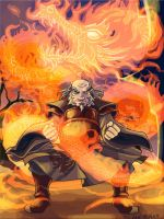 Iroh: Dragon of the West by squidbunny