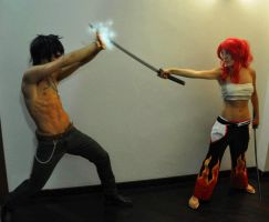 Gray Fullbuster vs Erza Cosplay by GNefilim