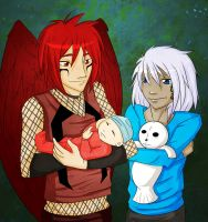 Casey and Xochi by KasumiAlche