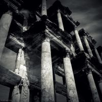 Library of Celsus II by lostknightkg