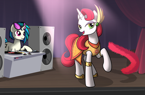 Performance by drawponies