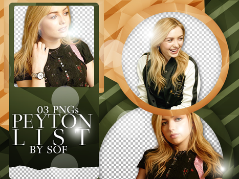 Peyton List PNG Pack #23 by SaleySwillers