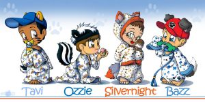 Nightshirt Cubs by Tavi-Munk